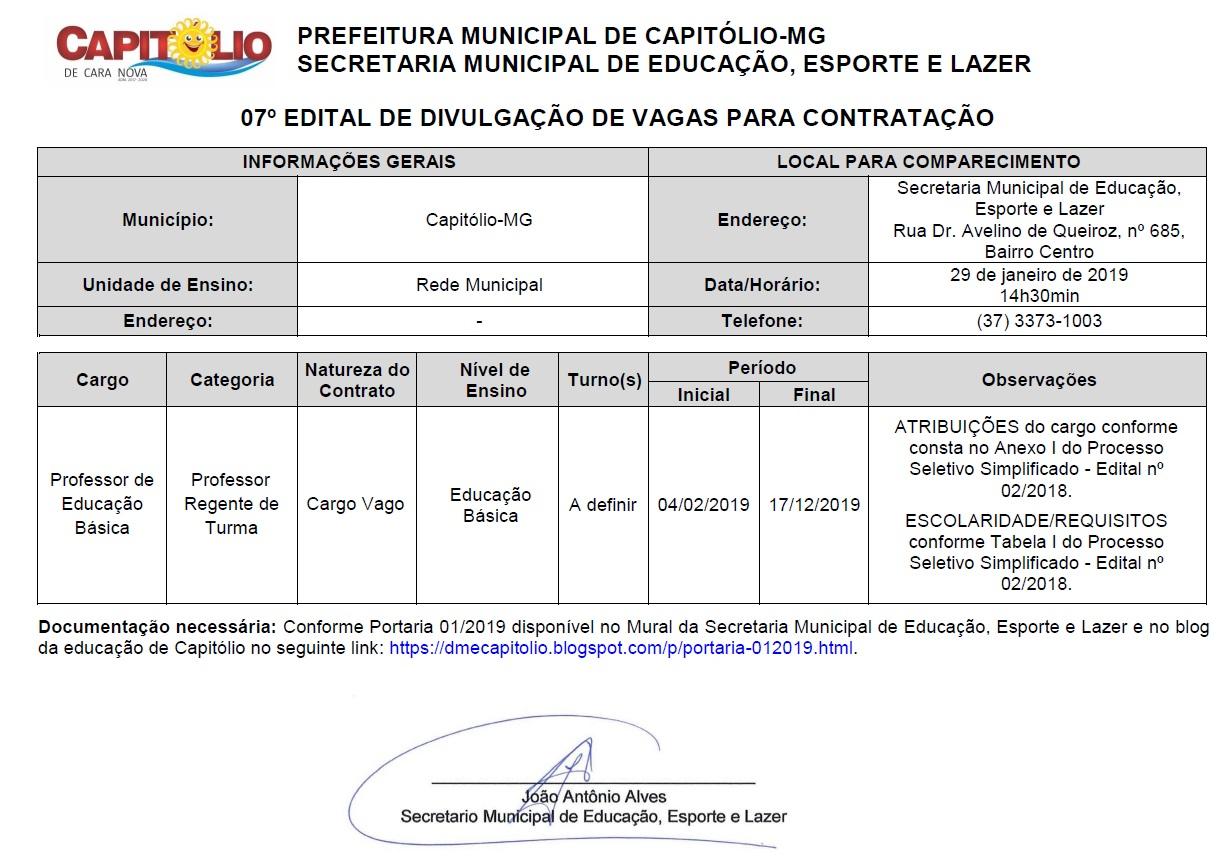 Edital 07_professor_Rede Municipal