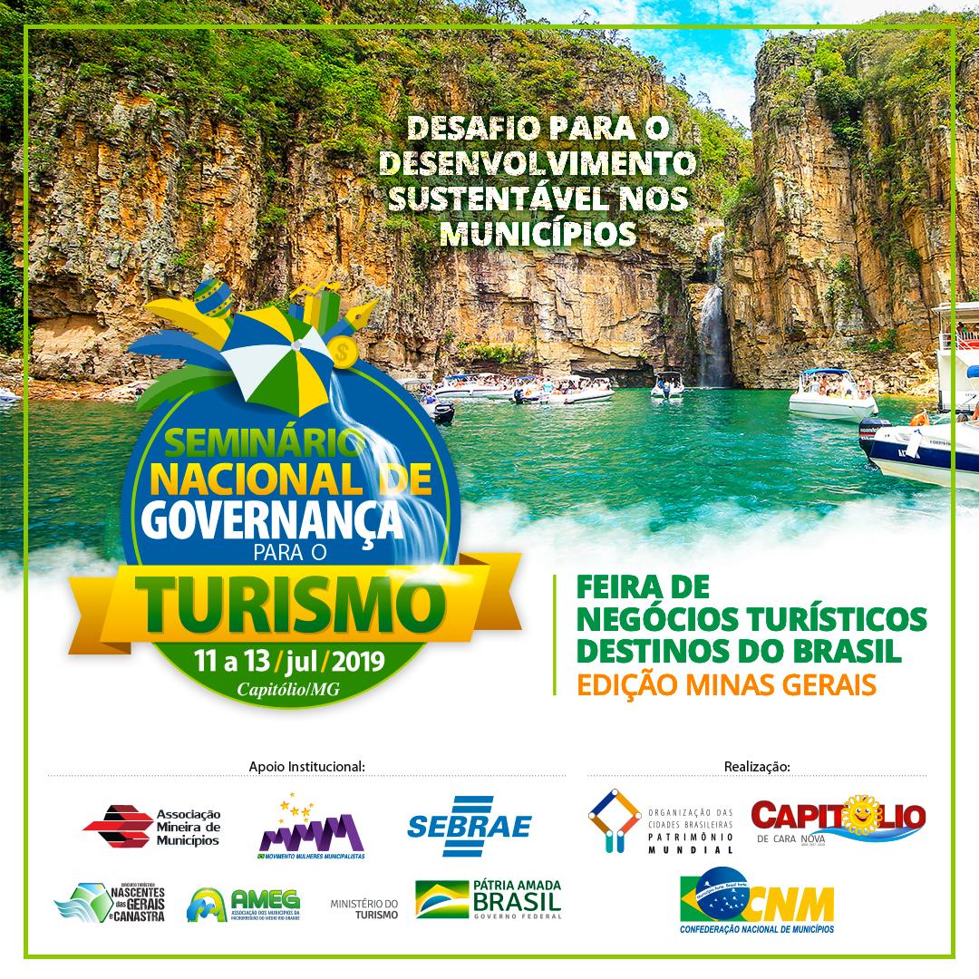 banner Seminário Governança Turismo